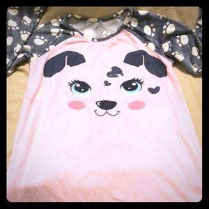 Puppy nightgown